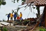 Prie Indonezijos krantų žemės drebėjimas