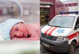Tauragiškės sūnus nustojo kvėpuoti vos gimęs: medikai pasiūlė atsisveikinti