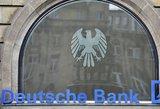 """Deutsche Bank"" vadovas prabilo apie didelius atleidimus"
