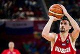 Rusijos krepšinio federaciją sukritikavęs Švedas sulaukė riebaus atsako