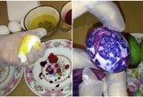 Naujasis Velykų topas: atrado lengviausią kiaušinių dažymo būdą