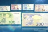 Apyvartoje – nauji eurų banknotai: ką reikia žinoti, kad neapsigautumėte