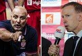 Iš Serbijos ir Prancūzijos rinktinių trenerių – skirtingos prognozės Lietuvai