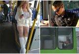 """Iki ašarų juokingi """"Humans of Trūlai"""" kadrai: tikroji viešojo transporto kasdienybė"""