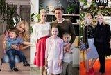 Sunku atitraukti akis: Lietuvos garsenybių vaikai – tėvų kopijos