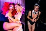 Taip linksminasi elitas: gimtadienį švenčiančio modelio tėtis šėlo su bikiniu
