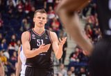 Įspūdingai žaidžiantis Arnas Butkevičius tapo naudingiausiu LKL mėnesio žaidėju