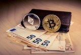 Pietų korėjietis iškeitė 2 mln. eurų vertės bitkoinų į padirbtus banknotus