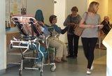Kaitra nesitrauks dar savaitę –medikai baiminasi dar didesnio sunegalavusių antplūdžio