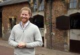 Pirmas Harry viešas pasirodymas po sūnaus gimimo: negali nuslėpti džiaugsmo