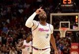 NBA legendai Dwyane'ui Wade'ui – įspūdingo dydžio Kinijos klubo pasiūlymas