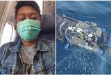 """Sudužusio """"Boeing"""" keleivis žmonai išsiuntė asmenukę prieš pat tragediją"""