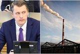 Energetikos ministro taikos derybų planas nesužavėjo Lietuvos politikų
