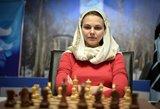 Pasaulio čempionė atsisakė žaisti Saudo Arabijoje dėl pažeidžiamų moterų teisių