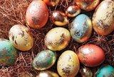 Auksiniai velykiniai kiaušiniai: taps tikra šventės bomba!
