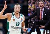 Lekavičiui – trenerio liaupsės ir palyginimas su NBA žvaigžde Curry
