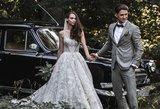 Įspūdinga Skaistės vestuvių suknelė – tarsi iš pasakos: atmintyje liks ilgam