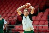 E. Ulanovas išskyrė NBA žaidėjus sukvietusių kroatų žaizdą, kuria galima pasinaudoti