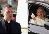 Kunigas R. Doveika pasakė, ką mano apie prabangius dvasininkų automobilius