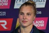 Olimpinis plaukikas: Rūtos failą reikia dėti į šoną – turime Rapšį