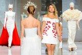 Kolekcijos – atima žadą: žymiausi šalies dizaineriai pristatė vestuvines sukneles
