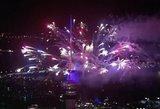 Naujųjų metų startas: Naujosios Zelandijos dangų nutvieskė įspūdingi fejerverkai