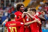 Dramatiška Belgijos pergalė: palaidojo istorinį Japonijos šansą