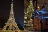 Nepatikėsite, kaip pasipuošė 1 Lietuvos miestas: išdygo Eifelio bokštas