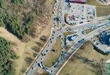 Šio maršruto geriau vengti: Vilniuje formuojasi spūstis