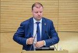 Seimo narių kanceliarinės išlaidos: 300 eurų Skvernelio suvenyrams