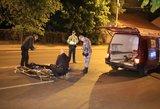 Siaubinga avarija Vilniaus centre – motociklininkas parbloškė ir mirtinai sužalojo moterį