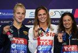 Per žingsnį nuo aukso: R.Meilutytė tapo Europos vicečempione
