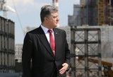 """""""Radio Svoboda"""" kaltina Petro Porošenką viršijus įgaliojimus"""