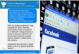 """Lietuviai išaiškino """"Facebook"""" plintančią suktybę: galite kaipmat prarasti anketą"""