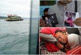 Pasaulis stebi su siaubu: po didžiausios tragedijos vandenyje, artimųjų aimanos krante