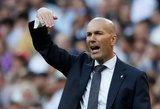 """Įsiutęs Zidane'as atsuko nugarą """"Real"""" žvaigždynui"""