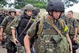 Ukrainos žiniasklaida: antiteroristinės pajėgos įžengė į Luhanską