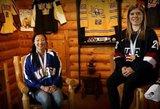 Išskirtinė istorija: seserys atstovauja skirtingoms šalims