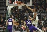 "Graikų antžmogis surinko trigubą dublį, ""Bucks"" gerino rekordus"