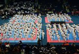 Europos tradicinės karatė čempionate sostinėje lietuviai pelnė tris medalių komplektus