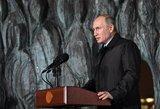 Vladimiras Putinas persigando: kažkas renka rusų biologinius duomenis ir ruošiasi išnaikinti