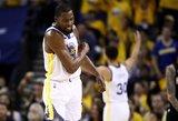 """""""Warriors"""" palaužė """"Rockets"""", bet Durantui sezonas gali būti baigtas"""
