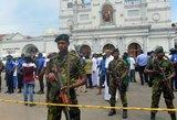 Sprogdinimų aukų skaičius Šri Lankoje išaugo iki 290