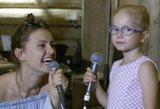 Išpildė 4-metės norą: atliko už širdies griebiantį duetą su Ieva Zaismauskaite