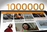 Portalą tv3.lt skaito daugiau nei milijonas lankytojų