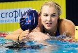 J.Jefimovą pranokusi R.Meilutytė pateko į Europos plaukimo čempionato pusfinalį