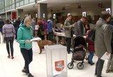 Žalia šviesa uždegta: prasidėjo antrojo rinkimų turo išankstinis balsavimas