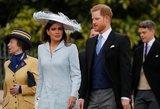 Į karališkasias vestuves Harry atvyko be Meghan: kompaniją palaikė kita gražuolė