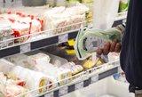 Palygino kainas: didžiausi skirtumai pieno produktų lentynose