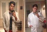 Storiausiu panevėžiečiu vadintas vaikinas atsikratė 40 kilogramų: atsikąsdavau ir rydavau dešrą